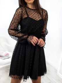 LUELLA BLACK DRESS