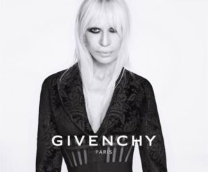 donatella in Givenchy Ad