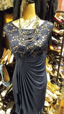 Fancy black and gold top