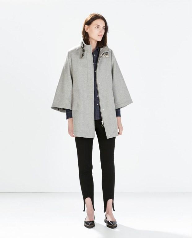 abbinare cappotto a mantella