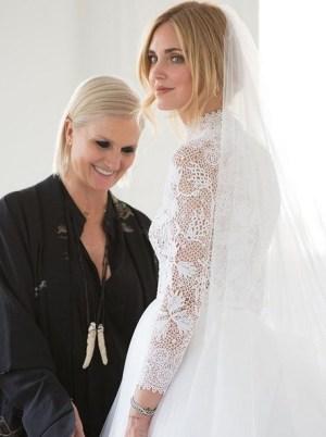 abito da sposa chiara ferragni dior maria grazia chiuri