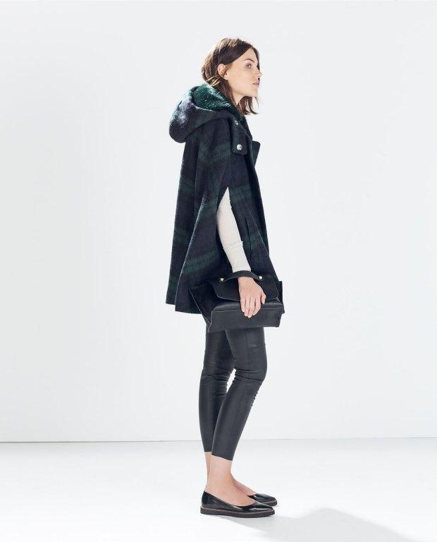 come abbinare cappotto a mantella