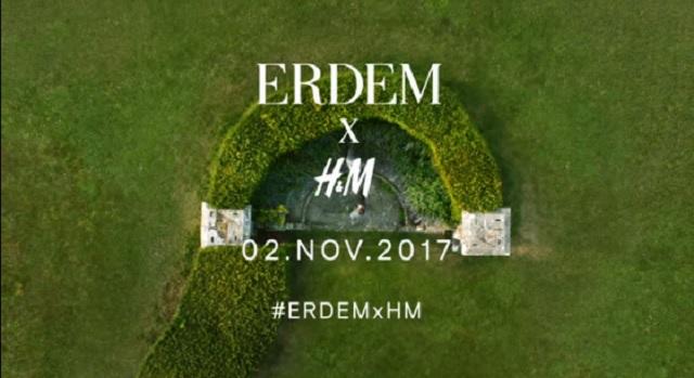 Erdem per H&M: il brand annuncia la nuova collaborazione