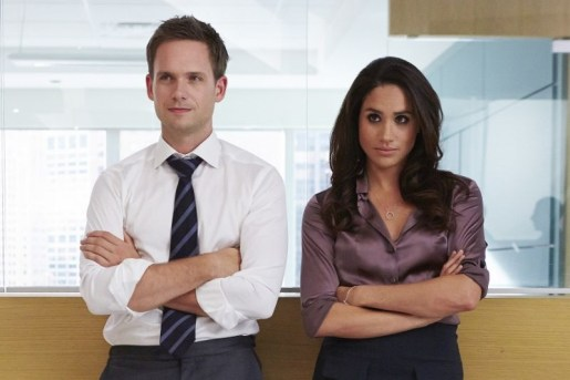 meghan markle suits con patrick j.adams