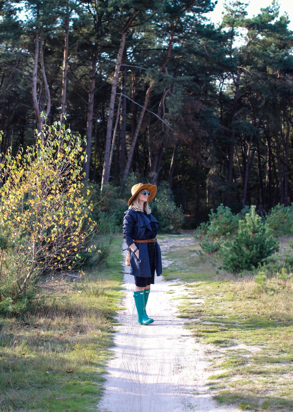 Utilitarian Item and Hunter Boots in the Loonse en Drunense Duinen