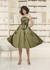 Olive Green Bridesmaid Dresses to Get Gorgeous Looks