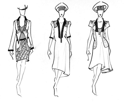 How to Draw a Dress Design to Show Your Fashion