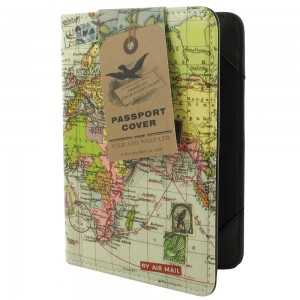 Wild and Wolf Passport Cover