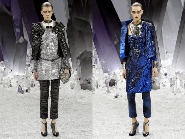 Chanel Ready to Wear Fall 2012 Space Trend