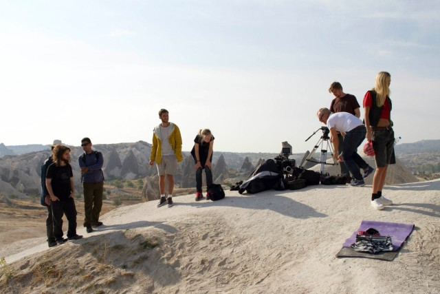 Behind the Scenes Vagabond Shoes Photoshoot
