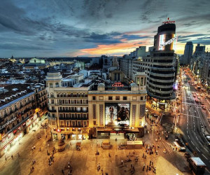 View of Madrid