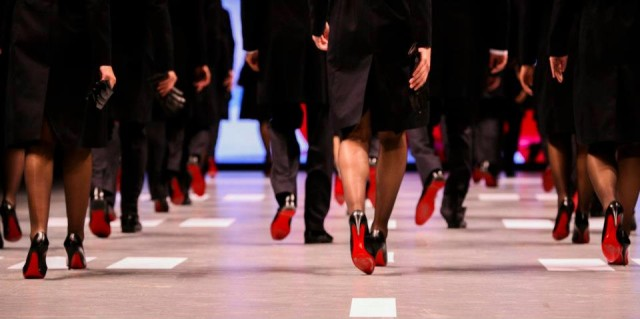 New Qantas Uniform Louboutins