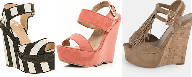 Wedges- packing light for summer