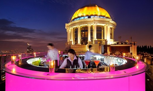 Bangkok roof top bar