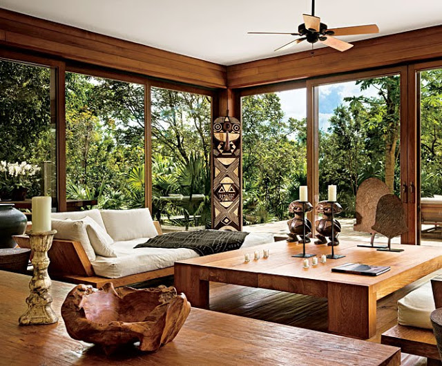 Celebrity Vacation Homes-Donna Karan Home Parrot Kay