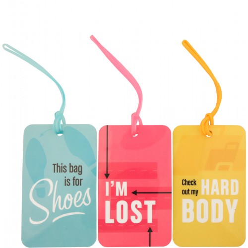 Flight 001 Luggage Tag Set