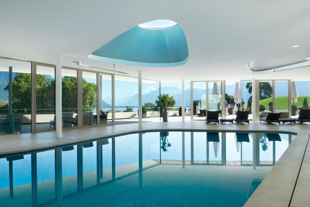 Clinique La Prairie Spa - most luxurious spas in the world