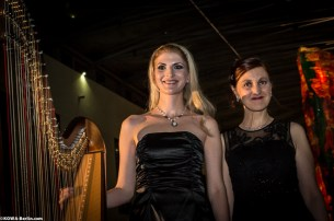 Sylvia Tazberik und Simonetta Ginelli