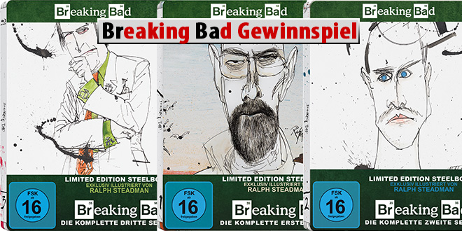 breaking bad Gewinnspiel art collection