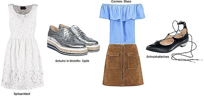 Mode Sommer Trends 2016