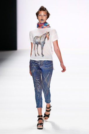Jeans For Refugees By Johny Dar Show - Mercedes-Benz Fashion Week Berlin Spring/Summer 2017