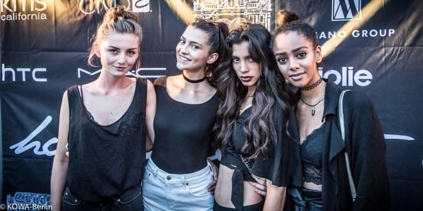 Lara Antonia Heimer , Yusra, Julia Wulf GNTM holygohst Fashion Week