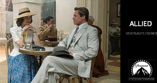 ALLIED - Vertraute Fremde Marion Cotillard Brad Pitt