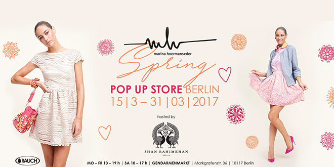 MARINA HOERMANSEDER POP-UP STORE SALE HOSTED BY SHAN RAHIMKHAN