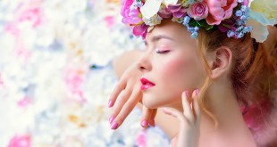 Frühling Hautpflege