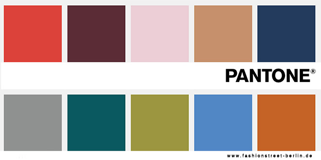Farbtrends Herbst 2017 Pantone Fashion Color Report Mode