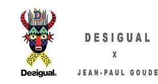 DESIGUAL x JEAN-PAUL GOUDE