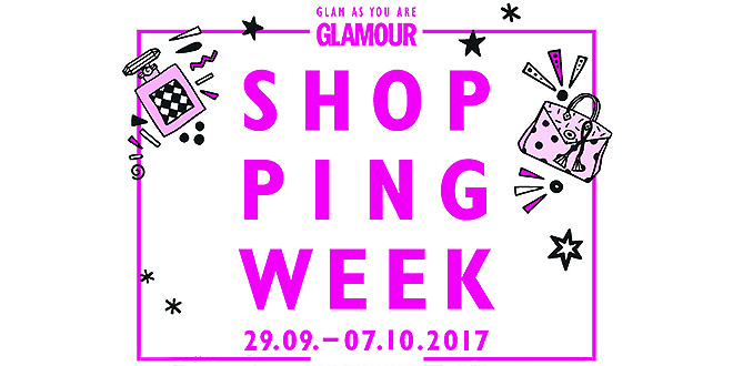 GLAMOUR Shopping-Week startet im September 2017
