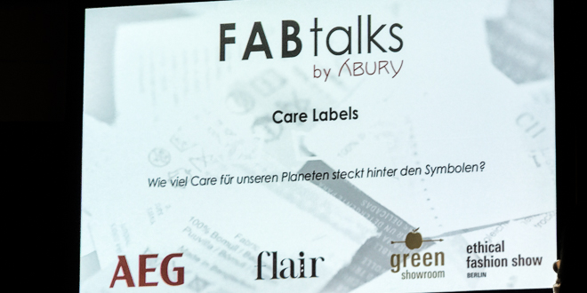 FABtalks #12 by Abury MBFW 2018 - CARE LABELS
