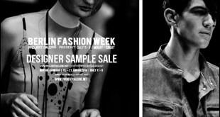 Designer Sample Sale by ProjektGalerie Herbst Winter 2018 MBFW Berlin
