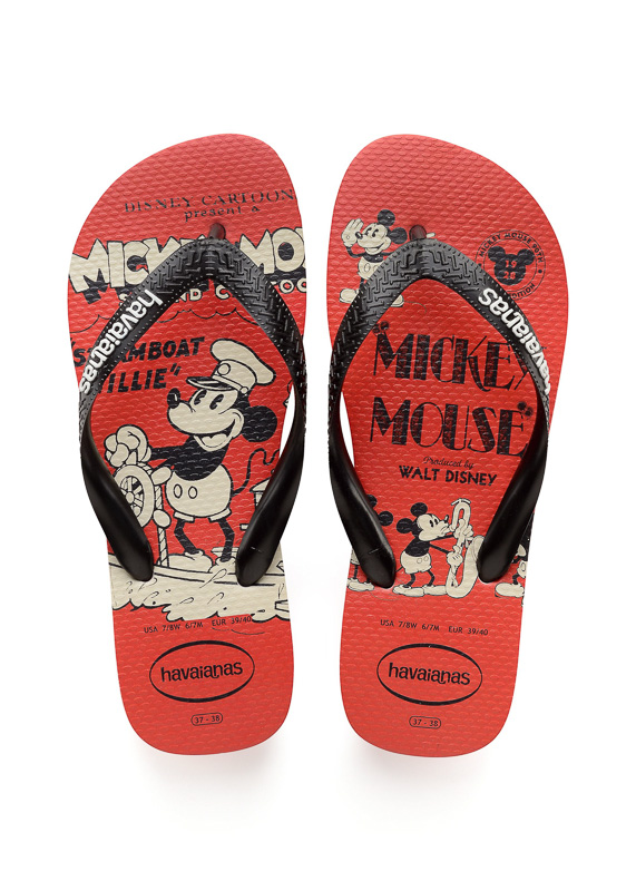 HAVAIANAS - MICKEY 90TH ANNIVERSARY SPECIAL EDITION