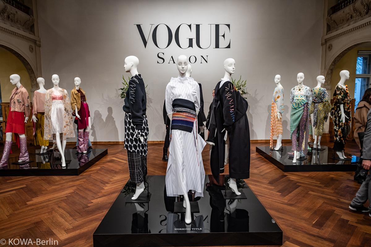 Vogue Salon Herbst Winter 2019 MBFW - Jung-Designer braucht ...
