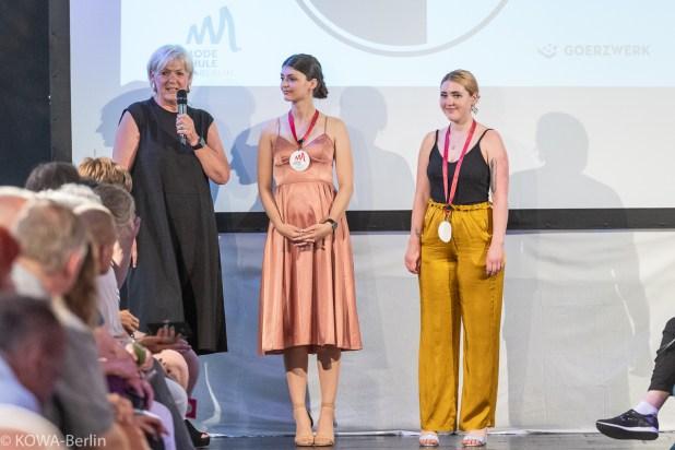 Modeschule Berlin-Abschlussmodenschau 2019