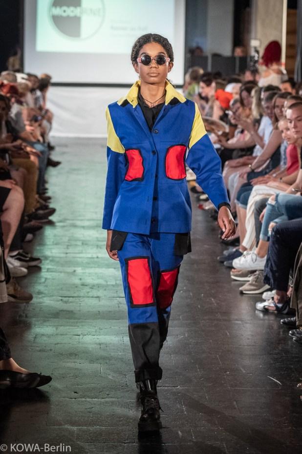 Daniel Pfeifer - Rainer zu Fall Modeschule Berlin-Abschlussmodenschau 2019