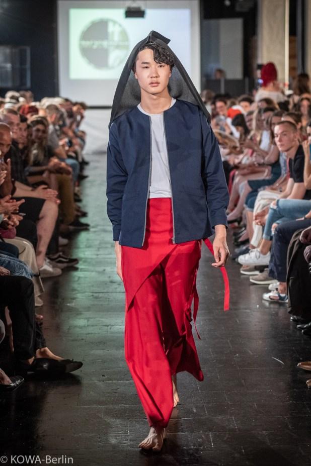 Lisalotta Kuhler - Origami Modeschule Berlin-Abschlussmodenschau 2019