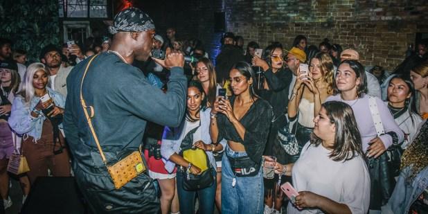 Rapper Serious Klein FILA Fashion Week Party