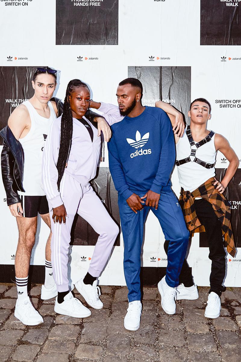 Adidas x Zalando Launch Kampagne Mein Supercourt, Meine Story Berlin