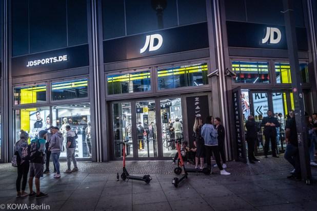 JD sports Alexanderplatz Store - Pre-Opening Party