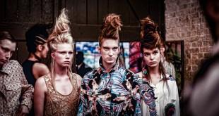 JJohny Dar London Fashion Week S/S 2020 Banksy-Tunnel