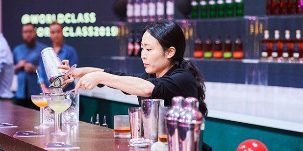 WORLD CLASS Bartender of the Year 2019 ist Bannie Kang