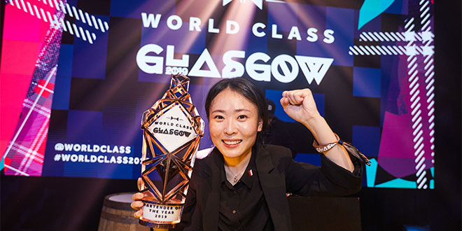 WORLD CLASS Bartender of the Year 2019 Bannie Kang