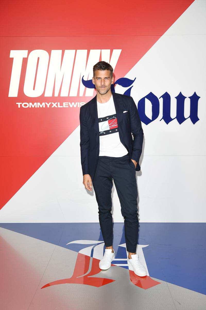 Fall 2019 Tommy x Lewis Milan Arrivals - Milan Fashion Week Spri