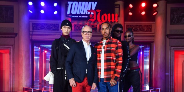 TOMMY X LEWIS Herbst/Winter 2019 Kollektion - TOMMYNOW Show in Mailand