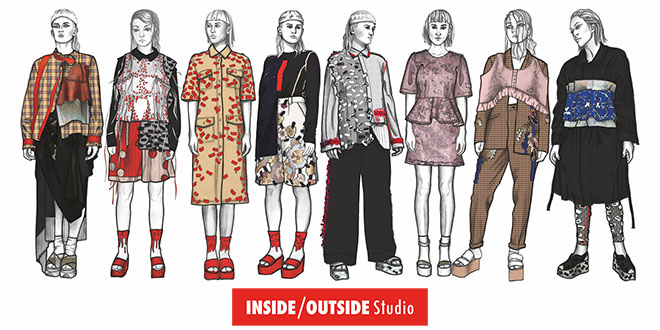 Julia Talita Pagenkopf mit INSIDE/OUTSIDE Studio auf der Vancouver Fashion Week