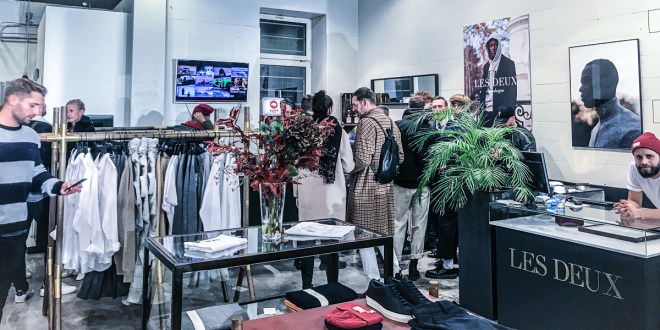 LES DEUX Grand Opening zum neuen Pop-Up Store in Berlin