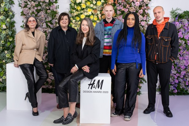 Jury H&M DESIGN AWARD 2020
